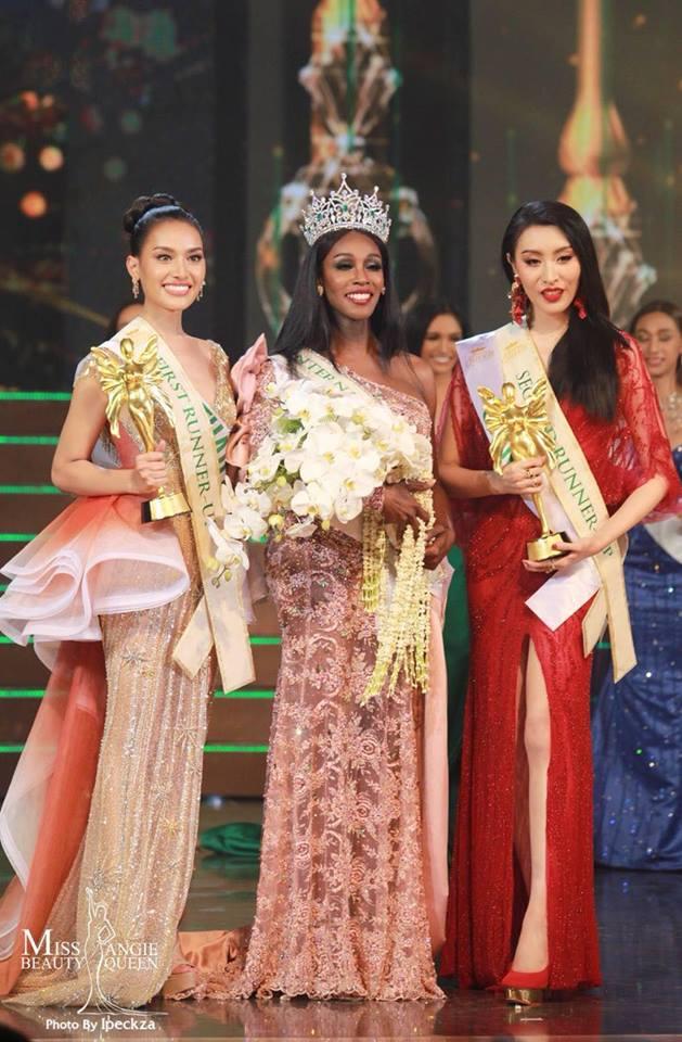 Top 3Hoa hậu Chuyển giới Quốc tế 2019