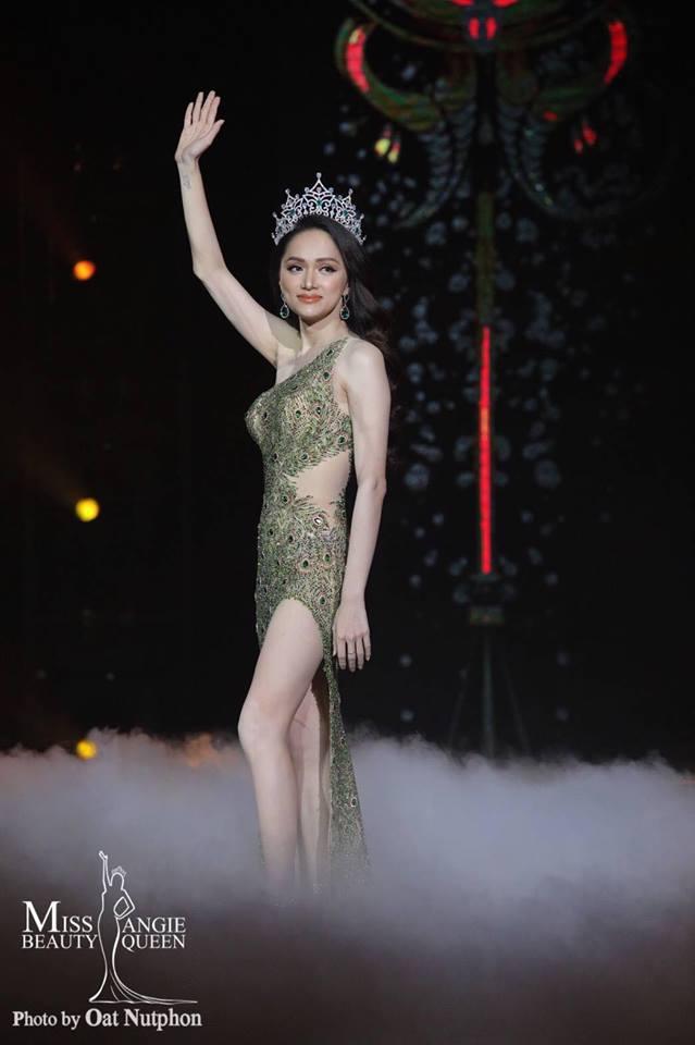 Người đẹp Mỹ kế nhiệm Hương Giang, đăng quang Hoa hậu Chuyển giới Quốc tế 2019 2