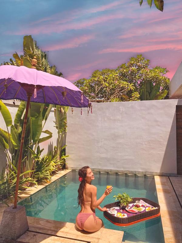 Tự thưởng cho bản thân chuyến đi 'sang chảnh', Phương Trinh Jolie gợi cảm hết cỡ ở Bali 3