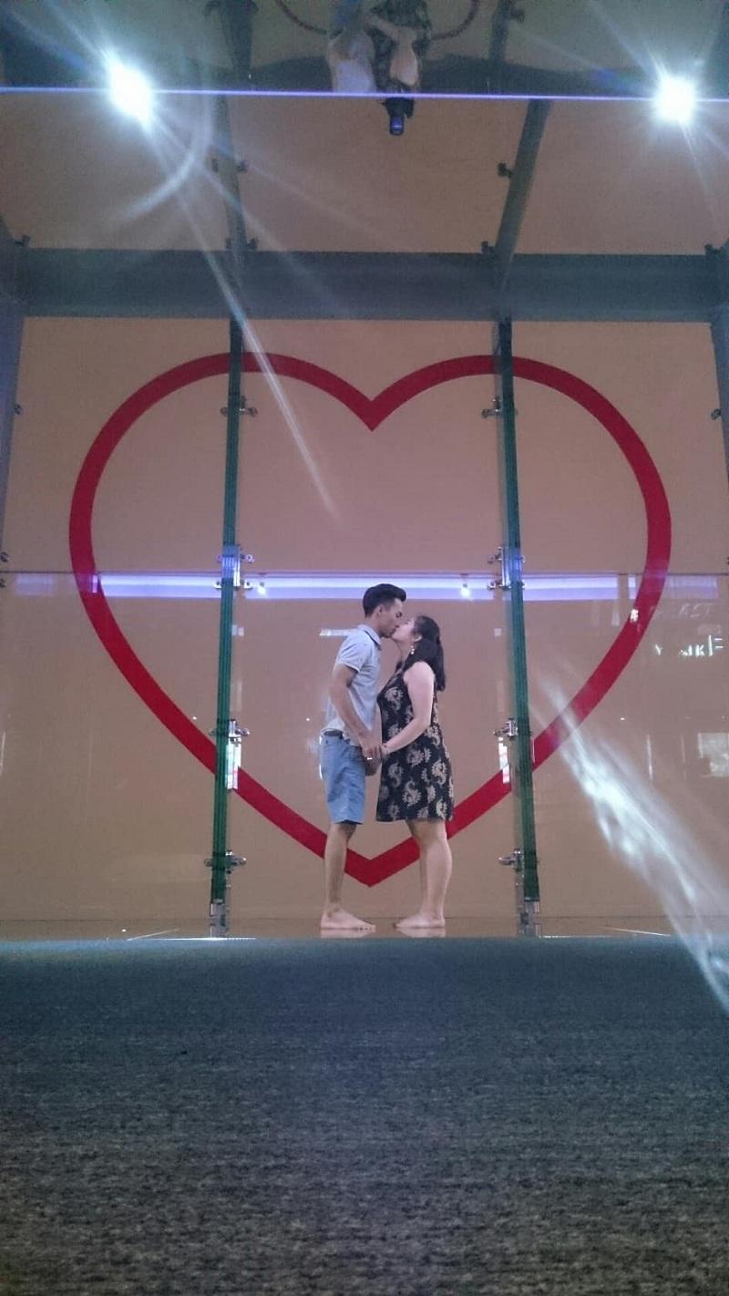 Chuyện tình cặp đôi 'vào nhầm WC nam được chồng như ý': Sau 1 năm yêu vỗ béo bạn gái tăng 10kg 7