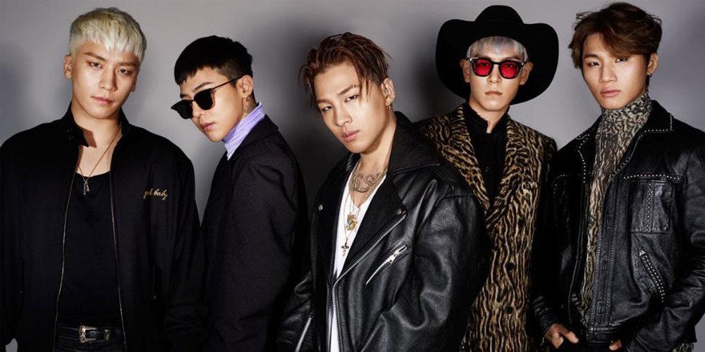 5 mảnh ghép của Bigbang.