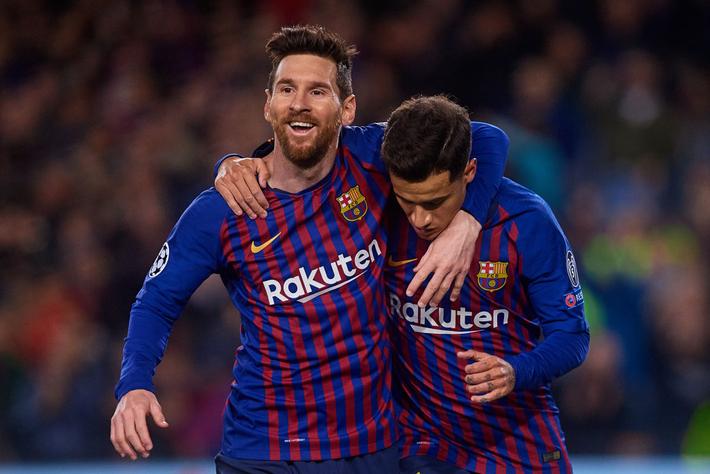 Barcelona quá vượt trội so với Lyon.