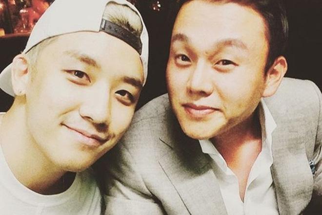 Chồng Park Han Byul thân thiết bên Seungri