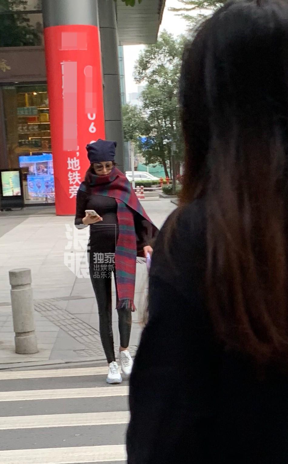 Lộ ảnh vòng 2 thon gọn bất ngờ, Trương Hinh Dư bị nghi ngờ đã bí mật sinh con? 6