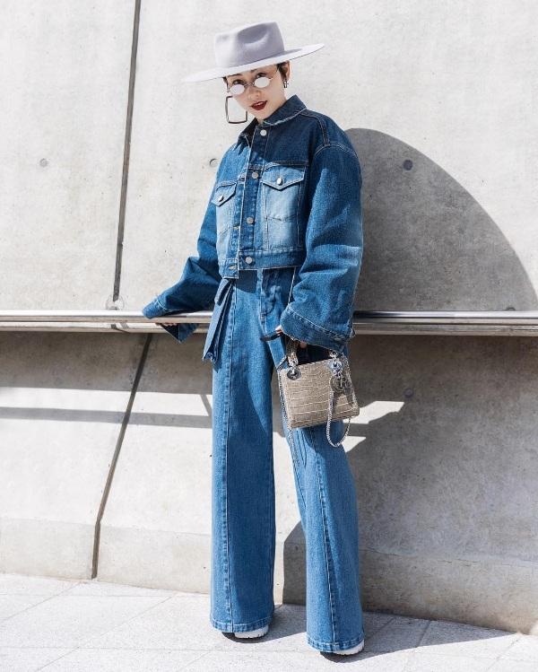 Phong cách cá tính vẫn là style chủ đạo mà nhiều bạn trẻ xứ Hàn lựa chọn cho mình khi xuất hiện tạiSeoul Fashion Week Thu/Đông 2019.