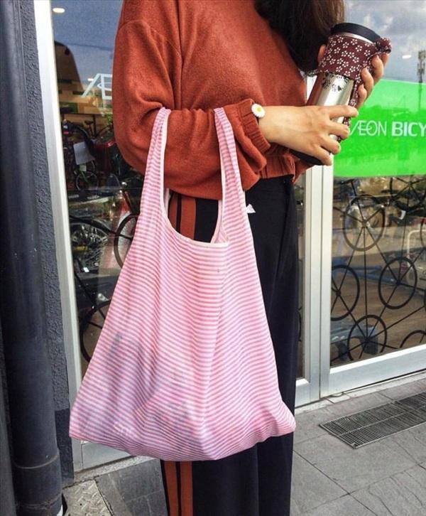 Túi vải giúp chúng ta có thể sử dụng nhiều lần