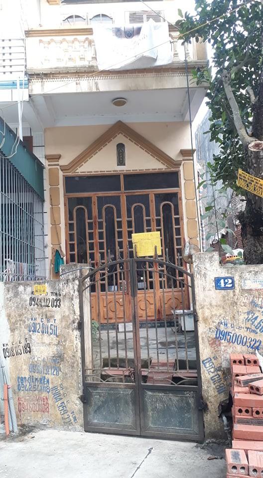 Ngôi nhà của chồng cũ bà Yến vẫn thường xuyên đóng cửa im lìm.