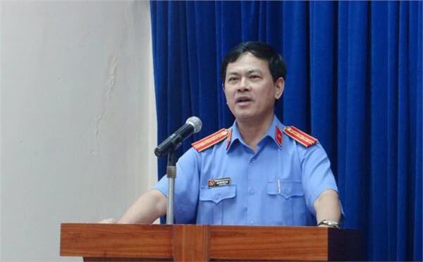 Ông Linh trong một buổi phát biểu khi còn đương chức.