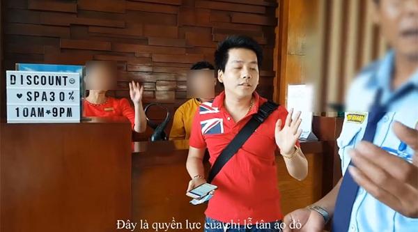 Youtuber Khoa Pug tung loạtbằng chứng tố bảo vệ resort Bình Thuận uy hiếp, lễ tân la hét, mắng chửi khách 1