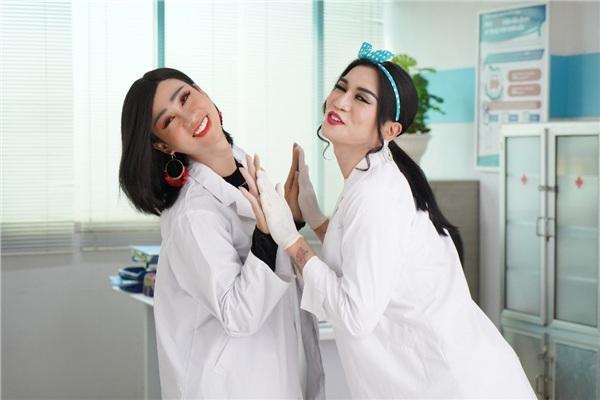 Khi Hải Triều và BB Trần làm phim vì sức khỏe phụ nữ 0