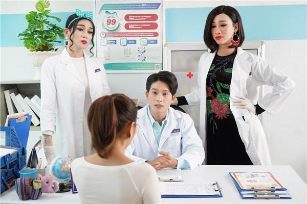 Khi Hải Triều và BB Trần làm phim vì sức khỏe phụ nữ 2