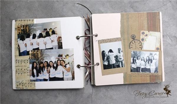 Lưu bút bằng album ảnh sẽ lưu giữ được những kỉ niệm đẹp nhất của thời học sinh mà không cònphải viết những dòng chữ khô cứng nữa
