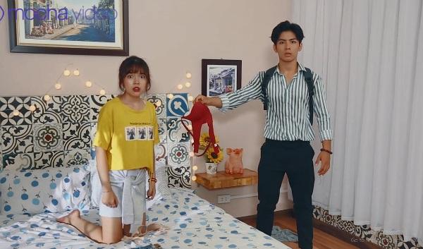 'Ảo tưởng tuổi 17' (tập 3): Mới sống chung ngày đầu tiên, hot streamer Linh Ngọc Đàm đã bắt gặp ngay cảnh hotboy cởi trần 0