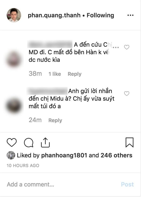 Tự chúc mừng sinh nhật của mình, Phan Thành không ngờ bị fan réo tên: 'Anh cứu chị Midu đi' 2