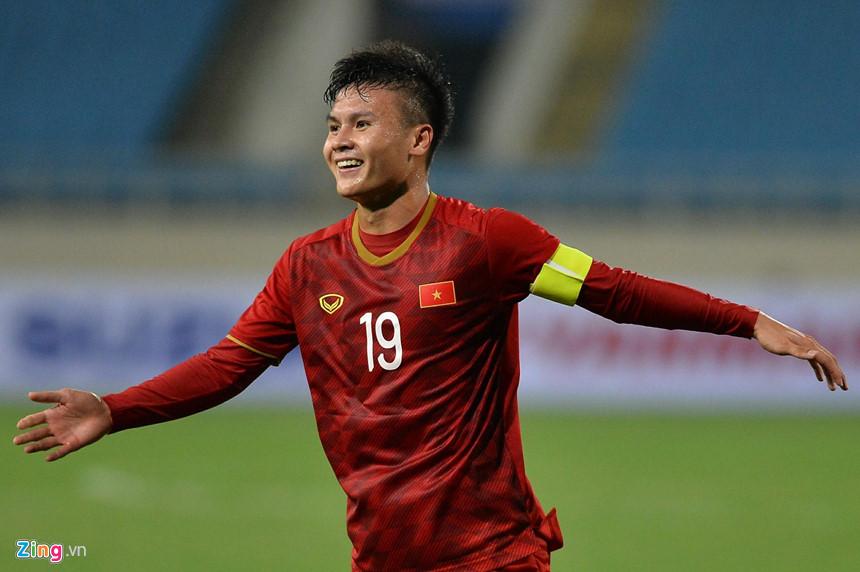 Quang Hải đã chơi xuất sắc tại vòng loại U23 Châu Á