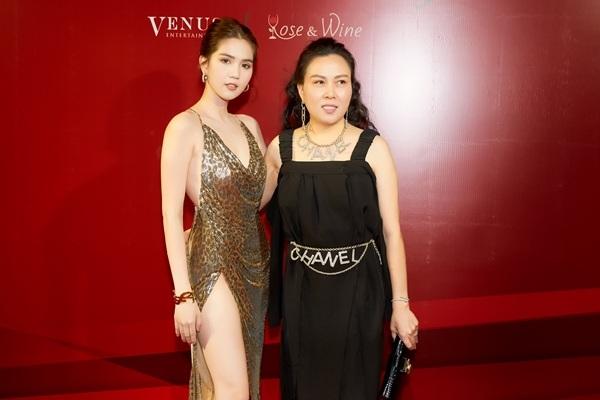 Ngọc Trinh và doanh nhân Phượng Chanel.