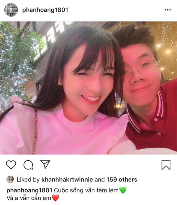 Vừa công khai quay lại, bạn gái thiếu gia Phan Hoàng bật mí lý do 'yêu lại từ đầu' 0