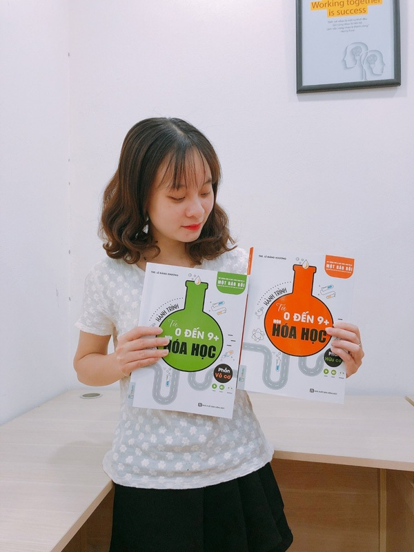 Review Bộ sách 'Hành trình từ 0 đến 9+ môn Hóa học' giúp đạt điểm 10 kỳ thi THPT Quốc gia 1