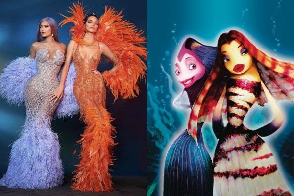 Kylie Jenner và Kendall Jenner là 2 nhân vật bị 'lên thớt' nhiều nhất. Ngay cả photoshoot 'thần thánh' như vậy mà cô chị cô em cũng bị lôi ra so sánh với 2 nàng cá.
