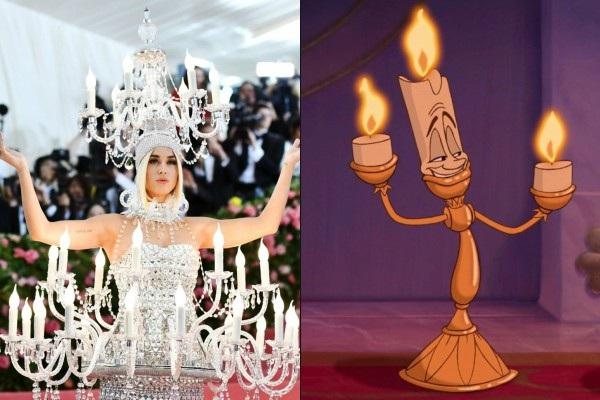 Ồ, thì ra đây là phiên bản hoạt hình của 'cô gái đèn chùm' Katy Perry.