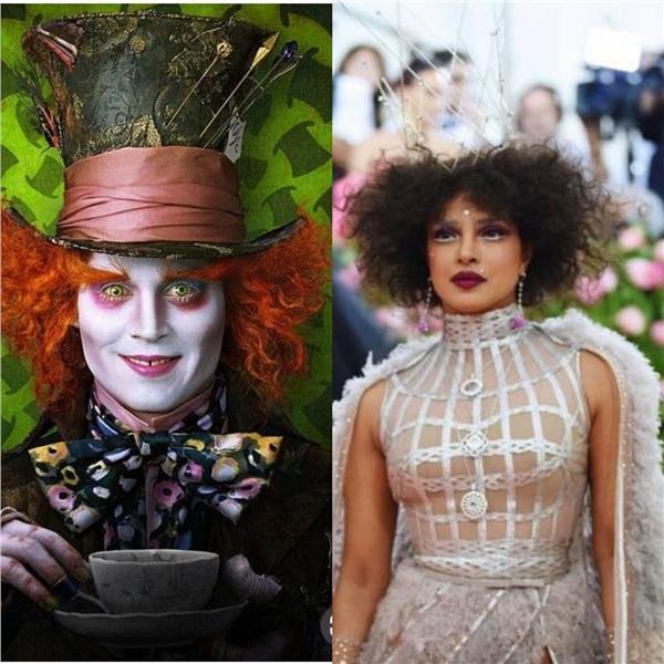 Priyanka Chopra và Johnny Depp, ai 'xéo xắt' hơn ai?