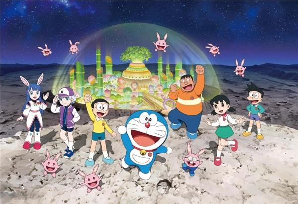 Đến hè lại lên, Doraemon hóa 'thỏ ngọc' đốn tim khán giả trong chuyến phiêu lưu đến 'nhà chị Hằng' 1
