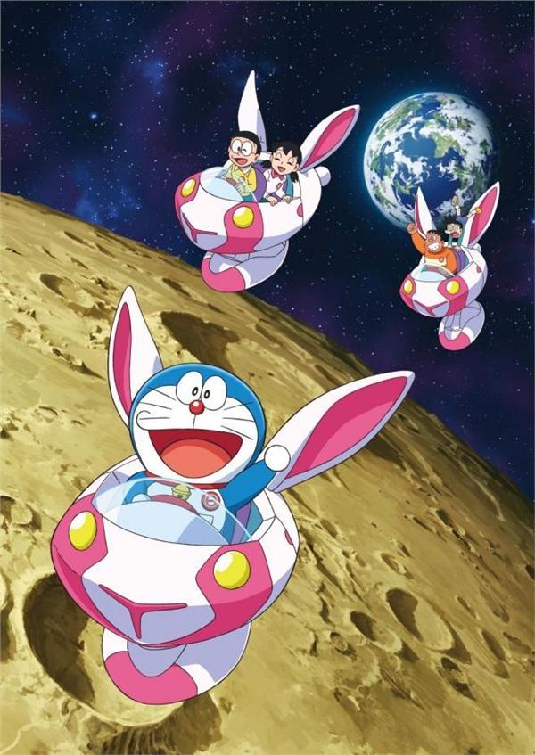 Đến hè lại lên, Doraemon hóa 'thỏ ngọc' đốn tim khán giả trong chuyến phiêu lưu đến 'nhà chị Hằng' 0