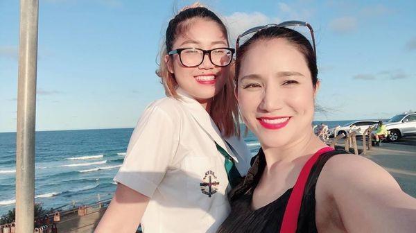 Chân dung cô con gái đang du học tại Úc của nữ MC Cát Tường 4