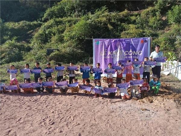 Lễ khởi công điểm trường Hô Tâu (Điện Biên)