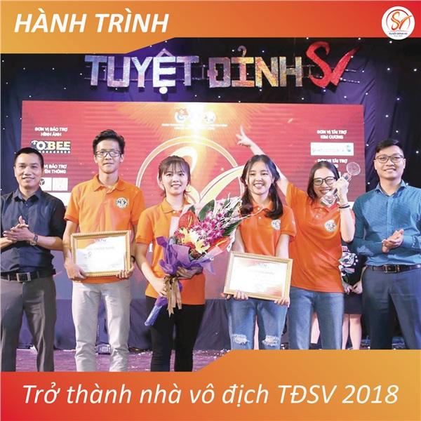 HT381 – Quán quân đầu tiên của cuộc thi Tuyệt Đỉnh SV 2018