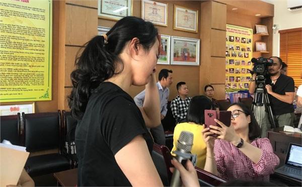 Nữ giáo viên Nguyễn Thị Thu Trang.