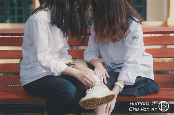 Năm học vừa kết thúc, bồi hồi đọc những câu chuyện rất tình của học sinh trường Chu Văn An 11