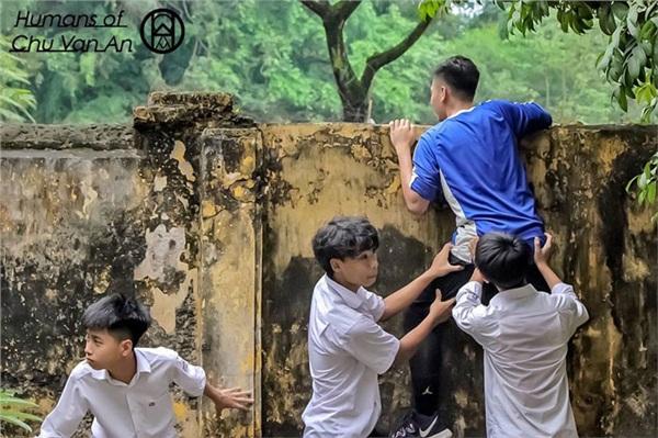Năm học vừa kết thúc, bồi hồi đọc những câu chuyện rất tình của học sinh trường Chu Văn An 7