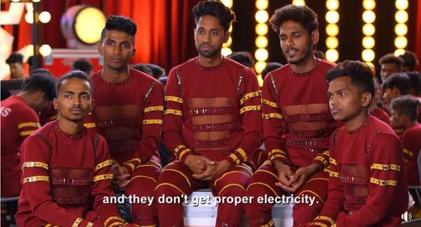 Nhóm nhảy V.Unbeatable đến từ khu ổ chuột Mumbai (Ấn Độ) xuất hiện tại chương trình America's Got Talent 2019.