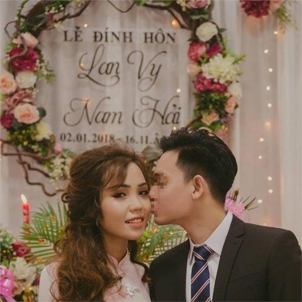 Trước khi xảy ra vụ việc đau lòng, Vy và Hải đã làm lễ đính hôn.