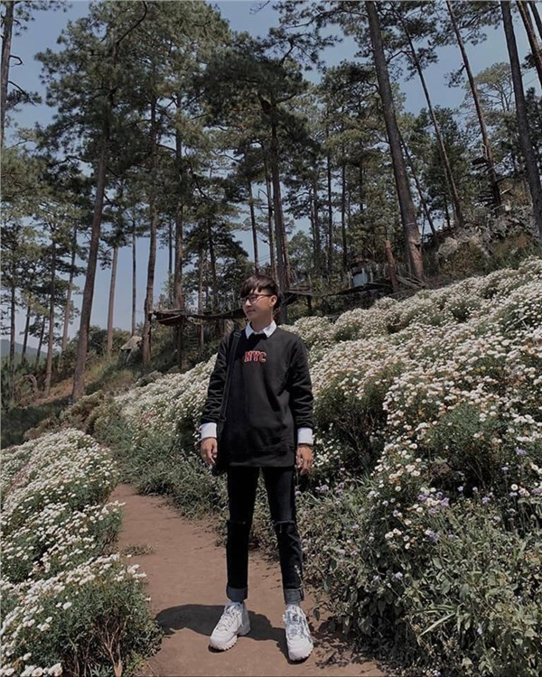 Đến Đà Lạt vào tháng 6: Lạc lối trong màu trắng tinh khôi của vườn cúc họa mi bên bờ hồ 12