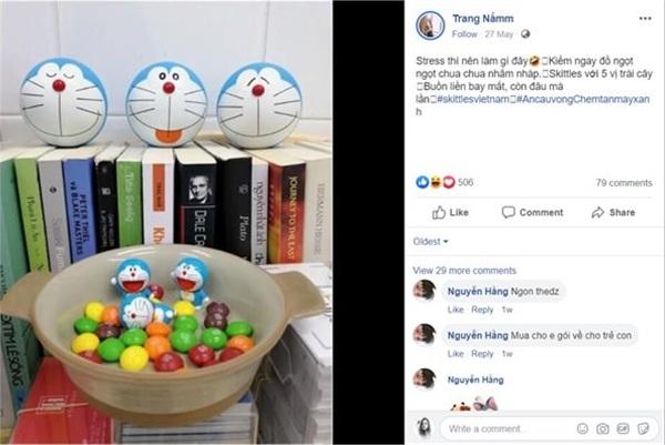 Biến hóa kẹo Skittles với tủ sách để nghịch. Khi kẹo không phải chỉ để ăn.
