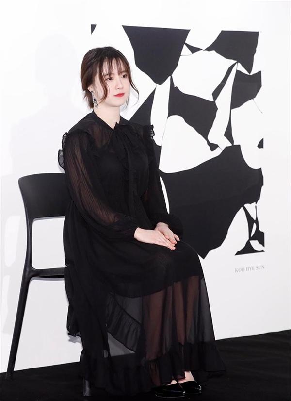 Goo Hye Sun xuất hiện với vẻ ngoài tròn trịa bất thường