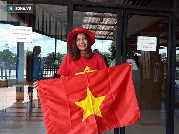 Ở Thái Lan, Aor Sureeporn là một Hotgirl khá nổi tiếng với gương mặt ưa nhìn và lại hoạt động trong lĩnh vực thể thao. Ảnh: Thái Hải.