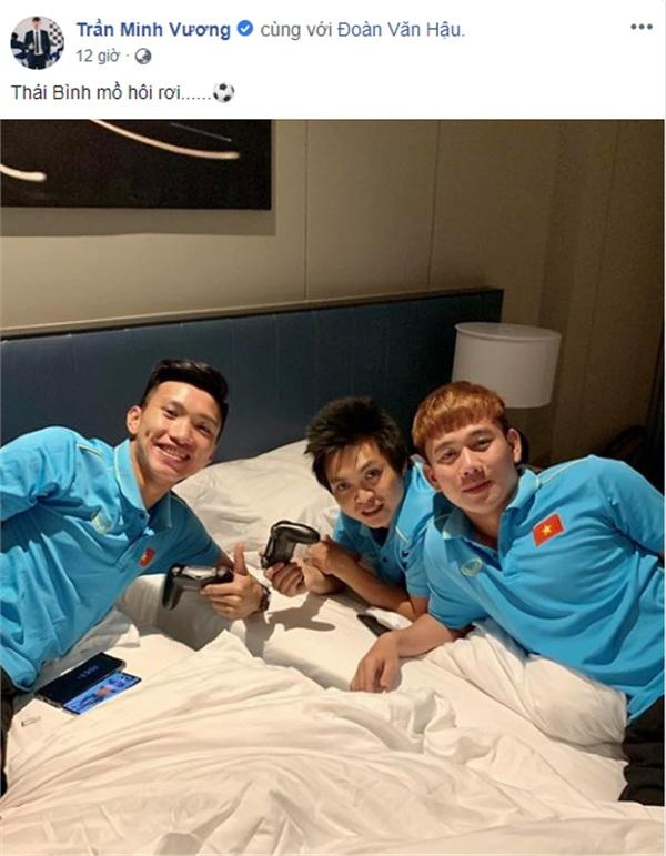 Bức ảnh team Thái Bình của Minh Vương nhận được nhiều sự chú ý.