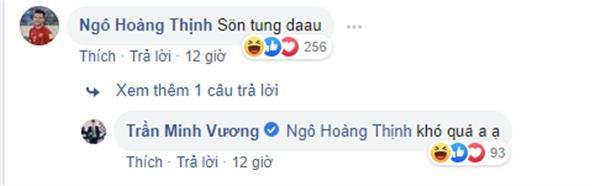 Cầu Thủ Hoàng Thịnh cùng nhiều fans vào hỏi 'Sơn Tùng đâu?'
