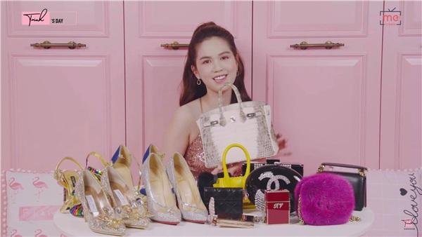 Chiếc túi hàng hiệu đắt nhất mà Ngọc Trinh đang sở hữu có giá trị lên tới 2,8 tỷ đồng