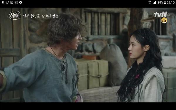 'Arthdal Chronicles' tập 4: Không phải Song Joong Ki, Kim Ji Won mới là người đầu tiên có màn đối đầu gay gắt với Jang Dong Gun 2
