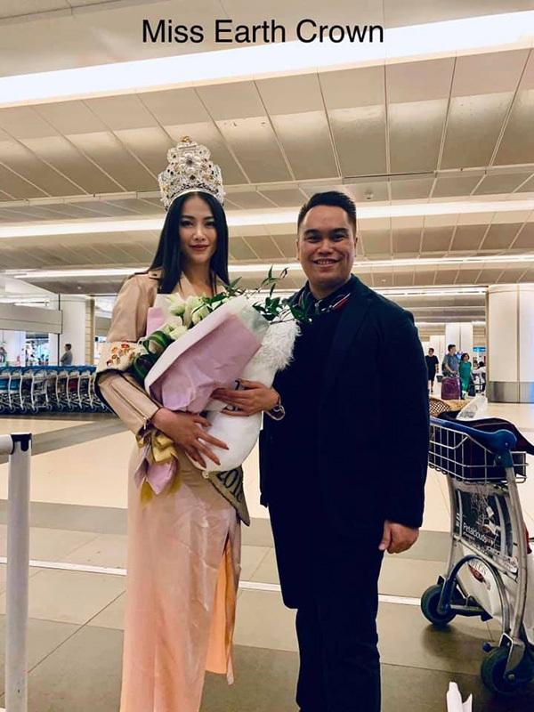 Hoa hậu Phương Khánh lên đường chấm thi Miss Earth Singapore 2019 2