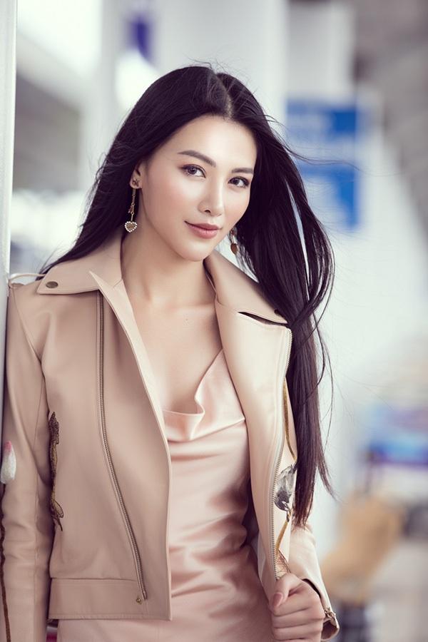 Hoa hậu Phương Khánh lên đường chấm thi Miss Earth Singapore 2019 4