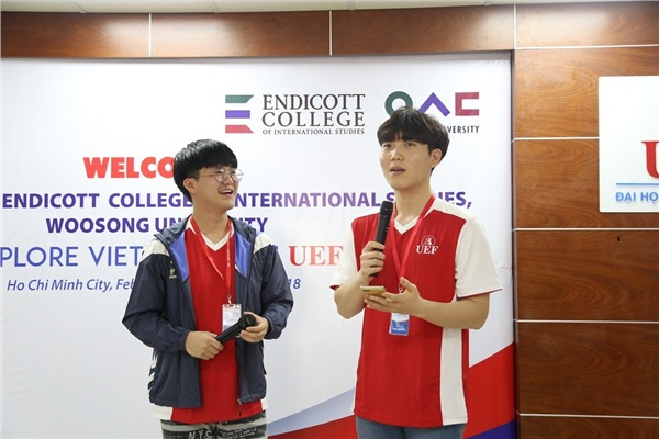 Sinh viên UEF có cơ hội hoàn thiện kỹ năng với hoạt động giao lưu quốc tế