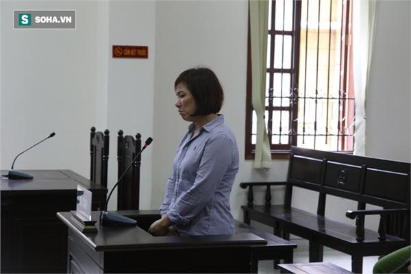 Bà Nguyễn Thị Nga bày tỏ sự ăn năn hối hận.