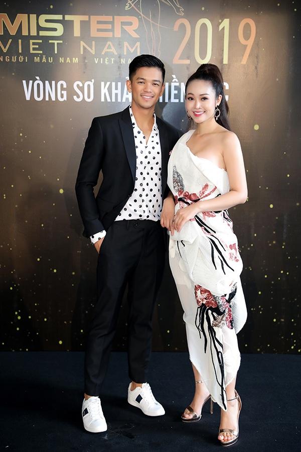 Phản ứng của Hoa hậu Thu Thủy khi nhìn thấydàn nam thần 6 múi tại cuộc thi Mister Vietnam 2019 4