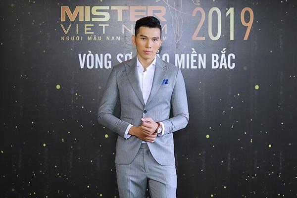 Phản ứng của Hoa hậu Thu Thủy khi nhìn thấydàn nam thần 6 múi tại cuộc thi Mister Vietnam 2019 9