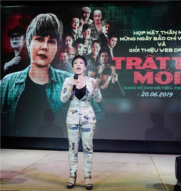 Việt Hương đầu tư tiền tỷ, mang cả 'ông nội' lên web-drama 1